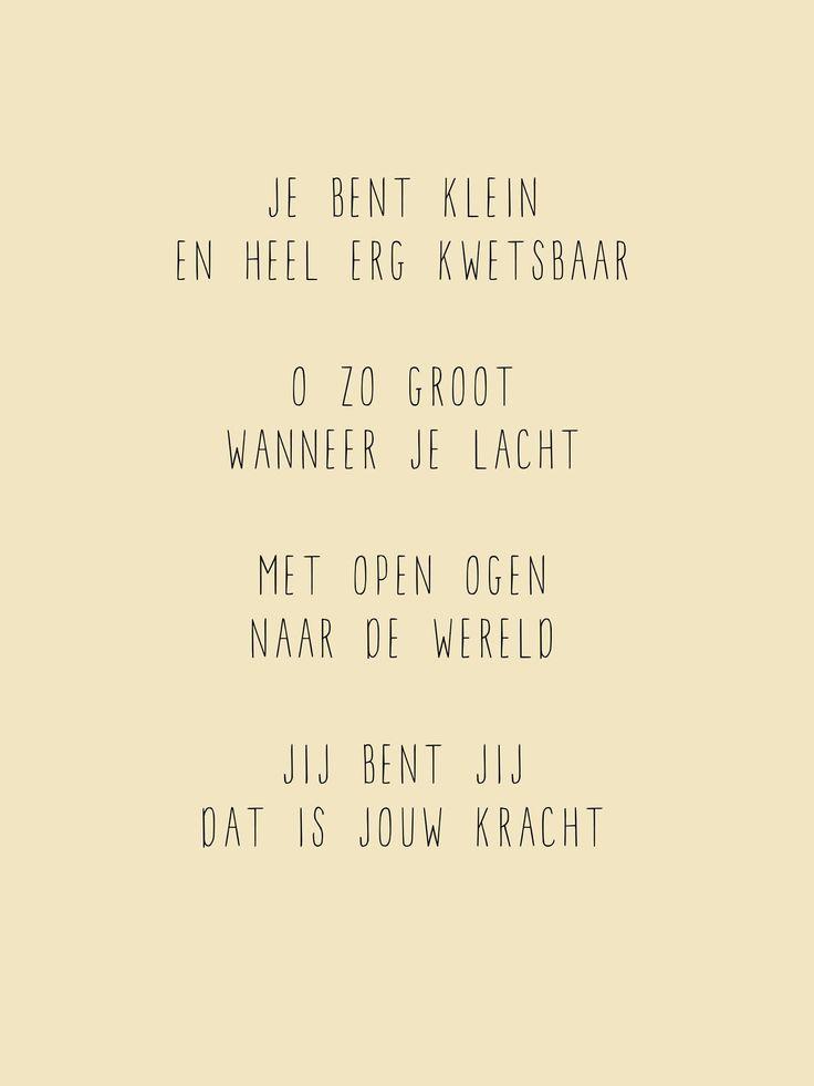 Citaten Jung : Je bent klein geboorte tekstje babykaartje gedichtje