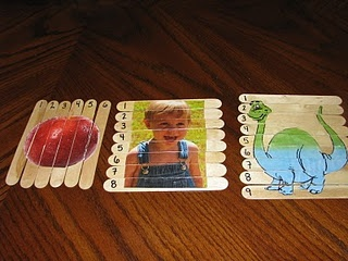 Homemade puzzles