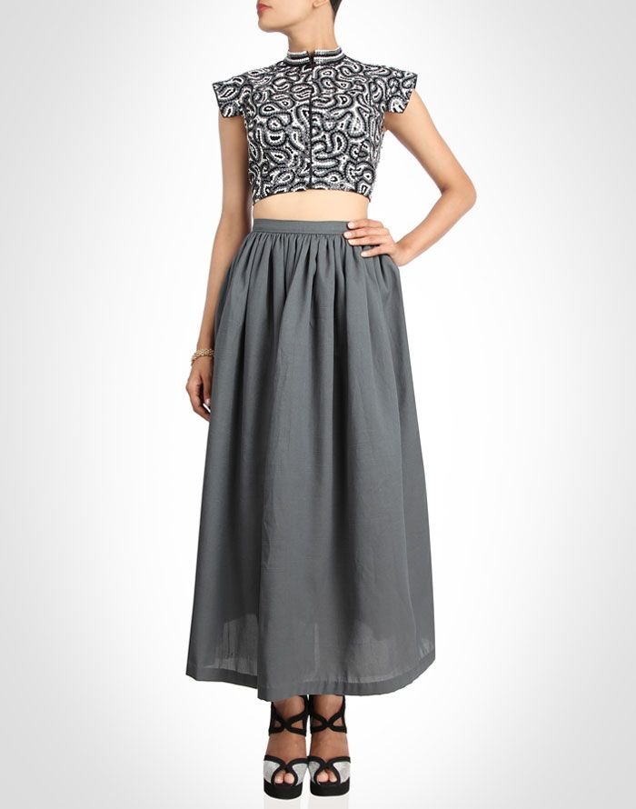 Kanelle collection | Top & Skirt