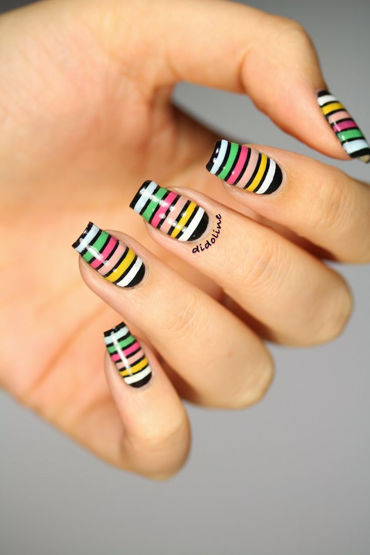 Fashion Friday - Inspiration Sonia Rykiel (+ Résultats Concours Anniversaire) ~ Didoline's Nails