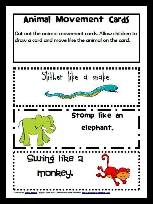 animal movement for kids - photo #11