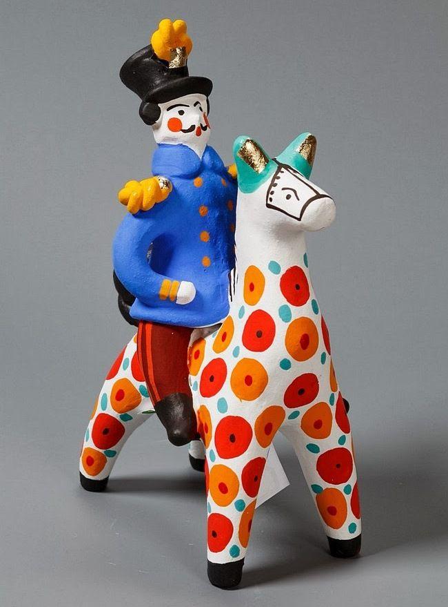 картинка дымковская игрушка