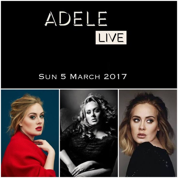 My mum & I have our tickets to Adele!!  Can't wait for next year - bring the tissues!