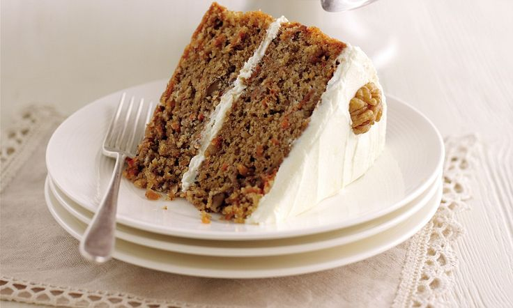 Mary Berry Special Part Two: Carrot and walnut cake with cream cheese icing