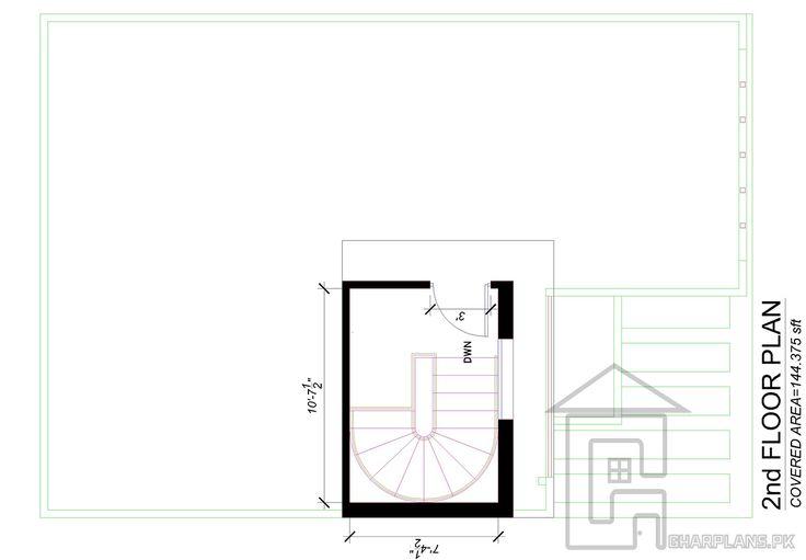Best 26 Best 5 Marla House Plans 3D Elevations Images On 400 x 300