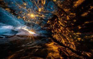 Vergängliche Schönheit - Kristallhöhlen in Island