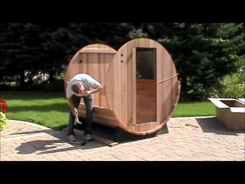 This video gives an easy-to-follow overview of the assembly of the Almost Heaven #BarrelSauna