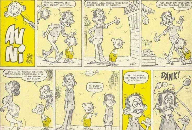 avanak avni karikatürleri -