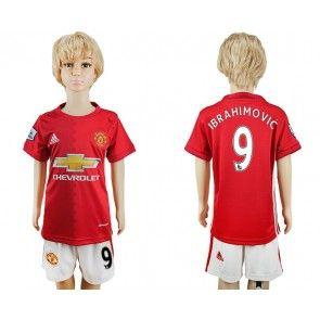 Manchester United Lasten 16-17 Zlatan Ibrahimovic 9 Koti Peliasu