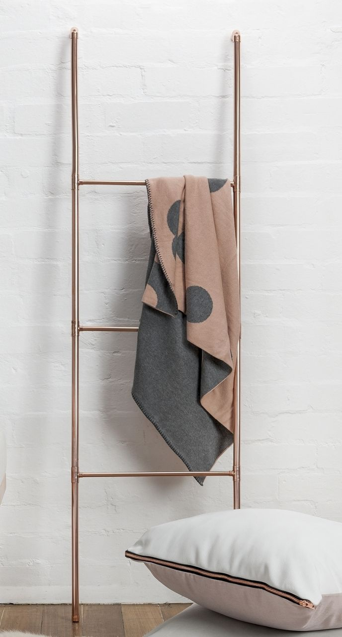 norsu interiors - SIT-KA Copper Ladder, $330. Only available in store (http://www.norsu.com.au/sit-ka-copper-ladder/)