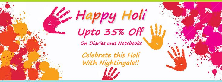 Nightingale Paper Products is ready with their range of colors to celebrate #Holi. Nightingale's wide collection of notebooks, journals, planners and diaries are in forth front in market.