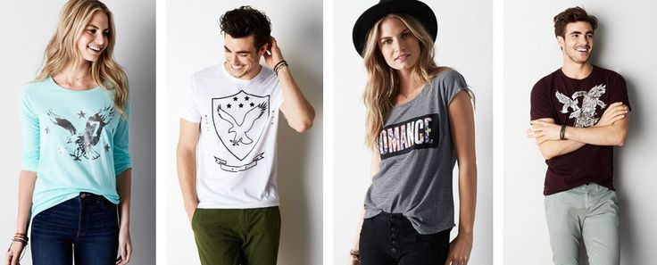 American Eagle Outfitters Fall Promo - Buy 1 Get 1 50% Off the Fall Collection  Get #Coupon Hurry up & save more on latest #FallCollection.