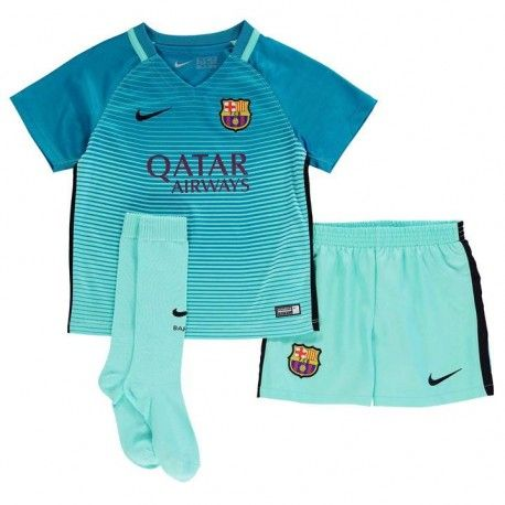 Camisetas del Barcelona para Niños Third 2016 2017