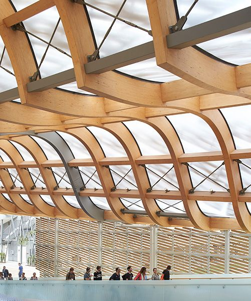 Kinesiska paviljongen av Studio Link-Arc och Tsinghuauniversitet. Foto Hufton+Crow