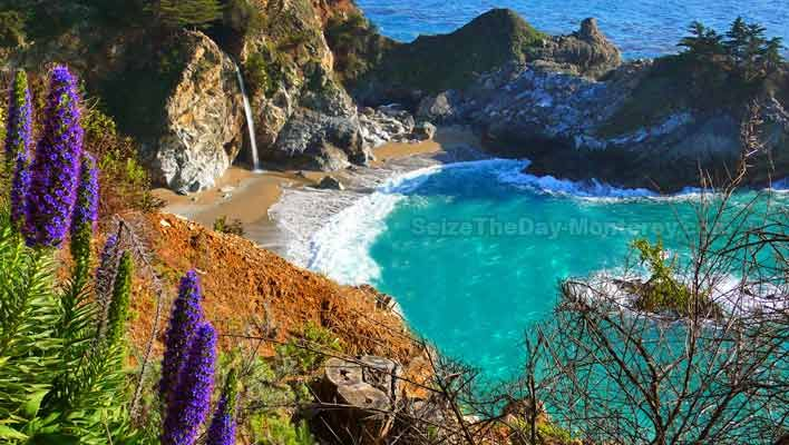 The best of big sur mcway falls is one of the best spots for Best beach in monterey ca
