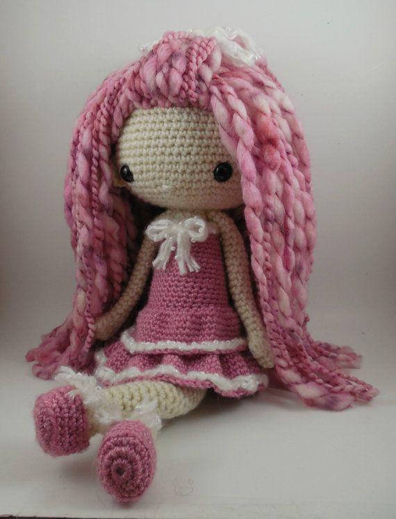 Lupita Amigurumi Doll Crochet Pattern PDF by CarmenRent on Etsy