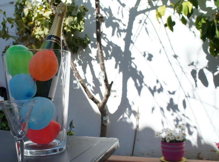 pinafili: Pinafili Films. Cubitos de hielo redondos y de colores.