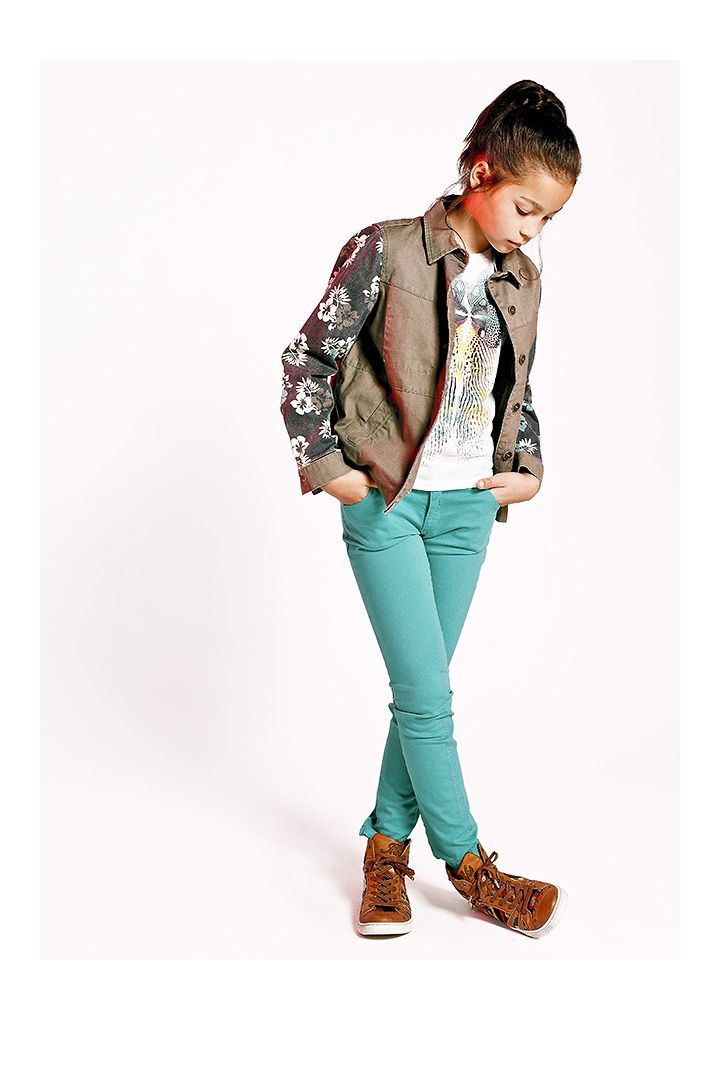 Marque De V Tements Printemps T Pour Junior Fille Mode Ikks Ss14 Ikks Way Girl Pinterest