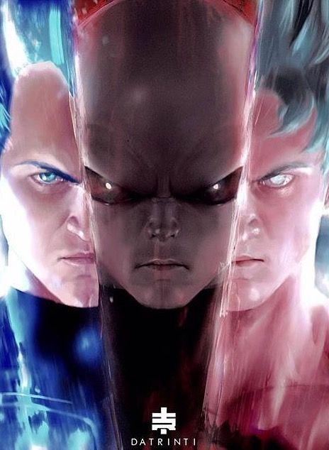 Super Saiyan blu Vegeta, Jiren and Ultra instinct Son Gokū