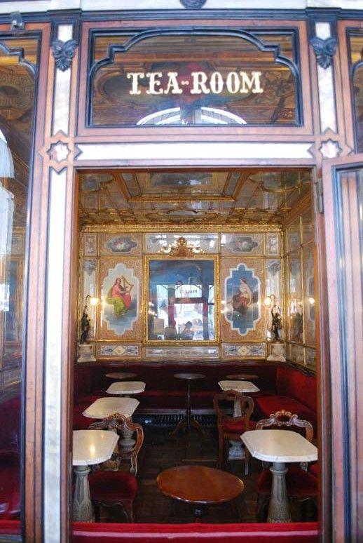Venice - FlorianTea room