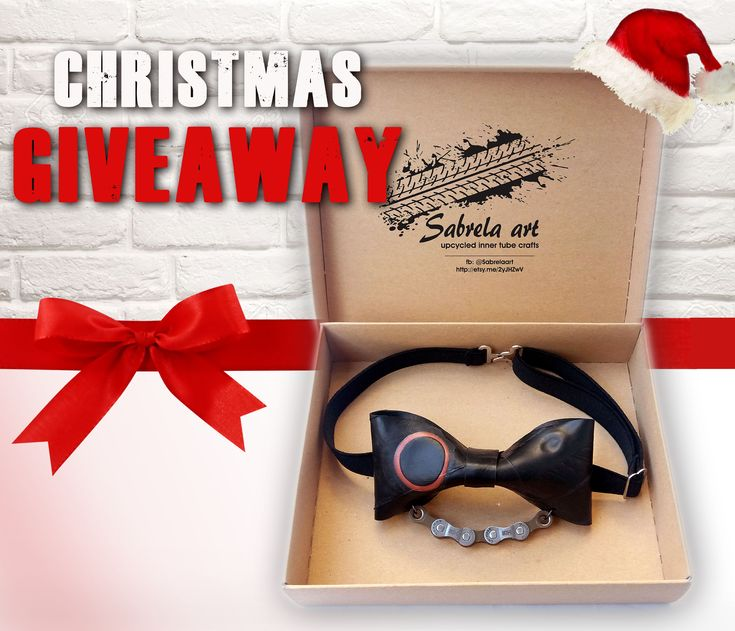 Christmas Giveaway! Win A Fashion Handmade Upcycled Bow Tie! | Bored Panda