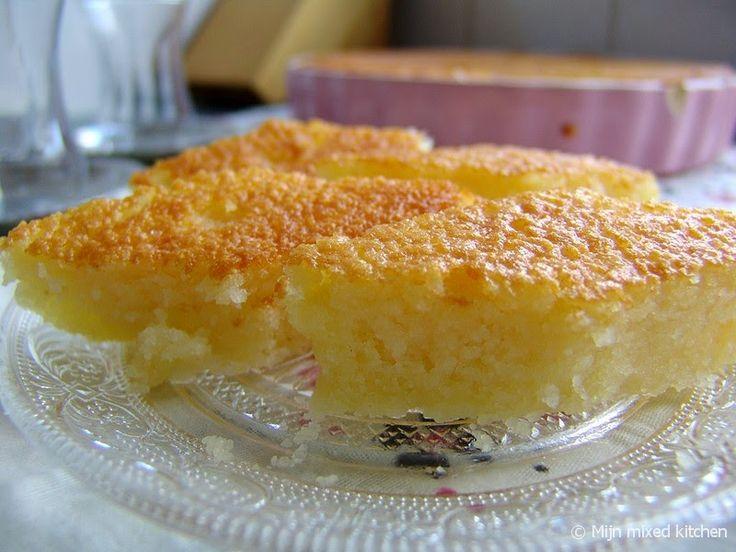 Revani (Turkse cake van griesmeel)