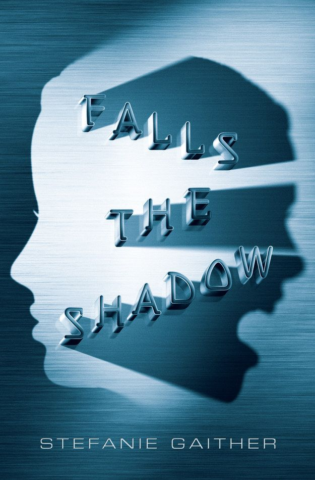Falls the Shadow by Stefanie Gaither | The 17 Best YA Book Cover Designs Of 2014