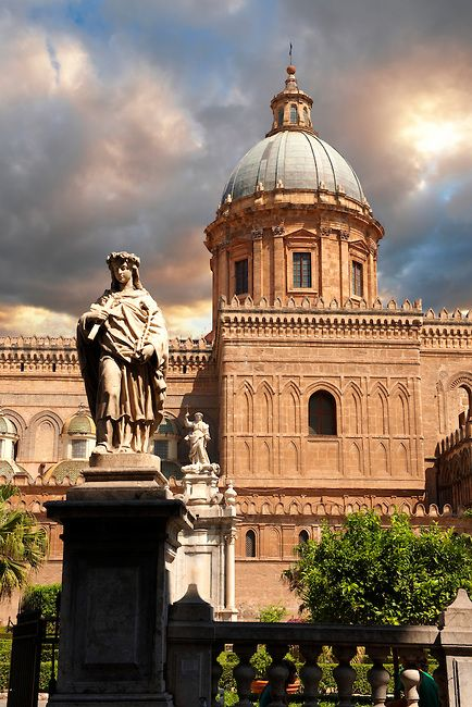Palermo Cathedral, Sicily, Italy :) checked!