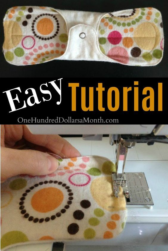 How to Make LuoPads, How to Make Your Own Pads, Sanitary Napkins, DIY, Homesteading, Sewing Patterns for Pads
