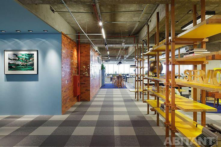 Головной офис Walmart.com. Пятиэтажный офисный гигант в Бразилии
