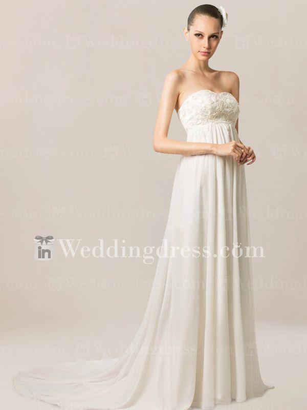 Love it! Summer Wedding Dress for Beach Weddings BC216