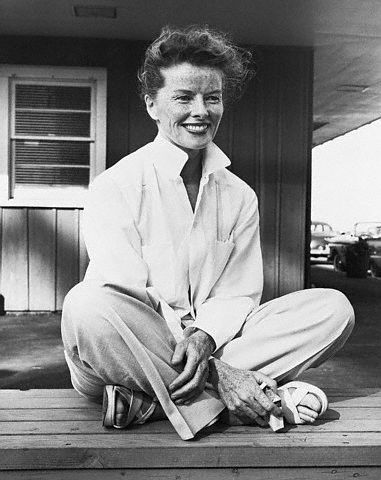 I never dressed up for any man -Katherine Hepburn  via http://www.cubiclechicblog.com