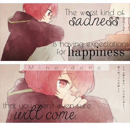 Sad Quotes About Love: 45 Best Images About Anime/manga Sad On Pinterest