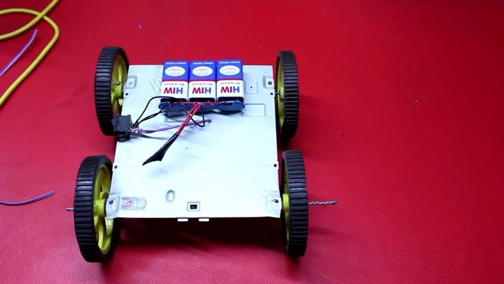 RC Car DIY - How To Make A Simple RC Car At Home | Easy RC Robot Car | R...