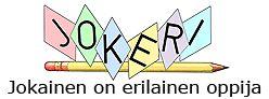 Jokeriportaali - pinta-aloja ja piirejä, tehtäviä, tietoa.