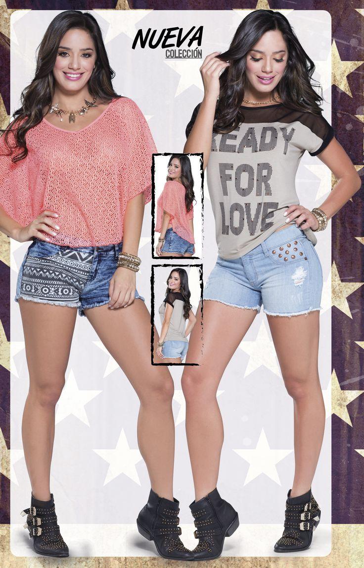 Shorts cargados de estilo #TeenbookbyMP para iniciar la semana.