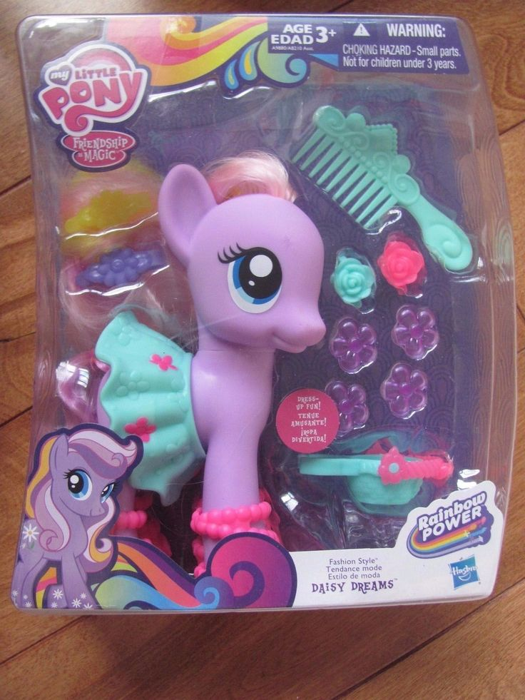 My Little Pony DAISY DREAMS Fashion Style Rainbow Power Friendship is Magic NEW | eBay