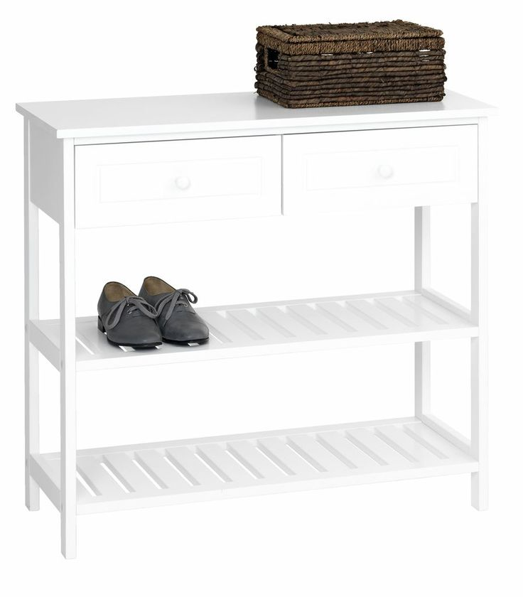 Hallmöbel ELMIRA med lådor/skohylla | JYSK