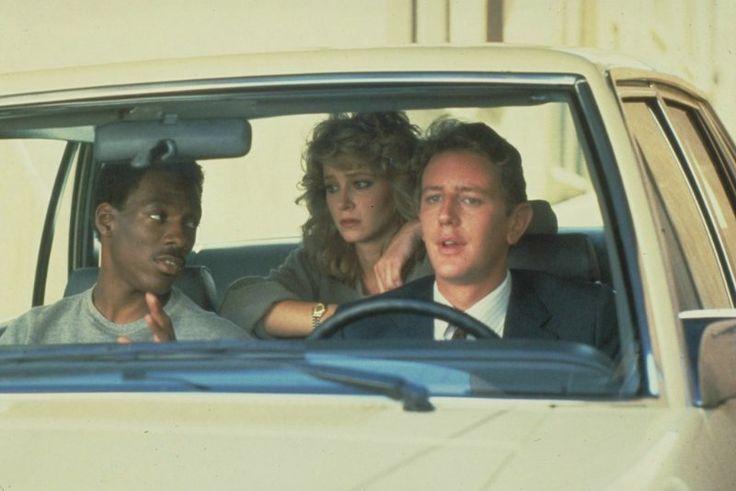 Eddie Murphy, Judge Reinhold and Lisa Eilbacher in Beverly Hills Cop (1984)