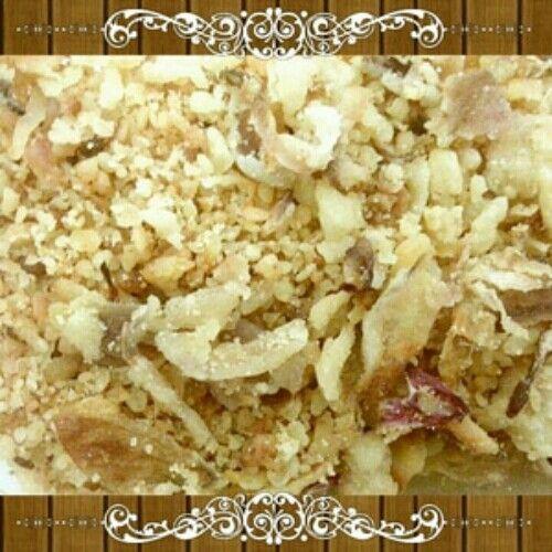 Onion Caramel Renyah dan Kenyal 80 gr Rp 10,000 minimal order : 5 bungkus Onion Caramel Renyah dan Kenyal dengan rasa yang gurih dan manis Berasa Renyahnya dan Berasa Kenyalnya. bisa di nikmati untuk Camilan saat santai, bisa juga di nikmati makan dengan nasi hangat.   Rasanya unik, mengenyangkan, dan bikin nambah lagi. Komposisi : Bawang Tepung Gula Bumbu penyedap Cooking oil  Sehat dan Bergizi  No bahan pengawet.  Yuk, silahkan menikmati camilan sehat ini.  Terima Kasih.