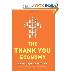 Watched Gary's videos on YouTube and currently reading his book, The Thank You Economy.  Good stuff!