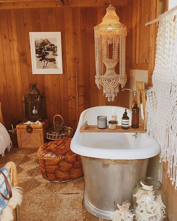 166 Best Bohemian Bathroom Inspiration Images On Pinterest