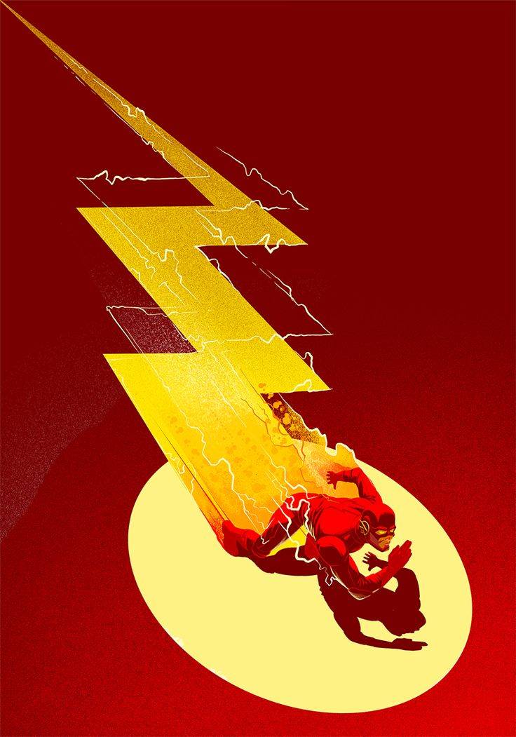 We illustrated a series of posters portraying three well known comic book characters namely Batman, The Flash and The Punisher. We incorporated their emblems into each composition as a hidden image.