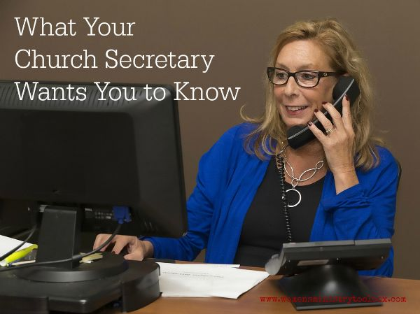 """Ever wonder what advice your church secretary would give you if she could be frank and honest without fear of hurting your feelings? Women's Ministry Toolbox shares truths and advice from a church secretary that will help you """"do ministry"""" better."""