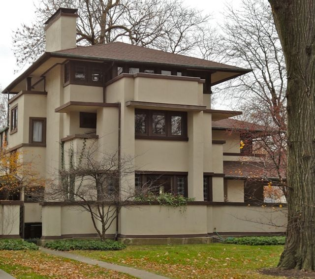 Frank Lloyd Wright Oak Park architectural tour. Have been on this tour twice. I love FLW's designs