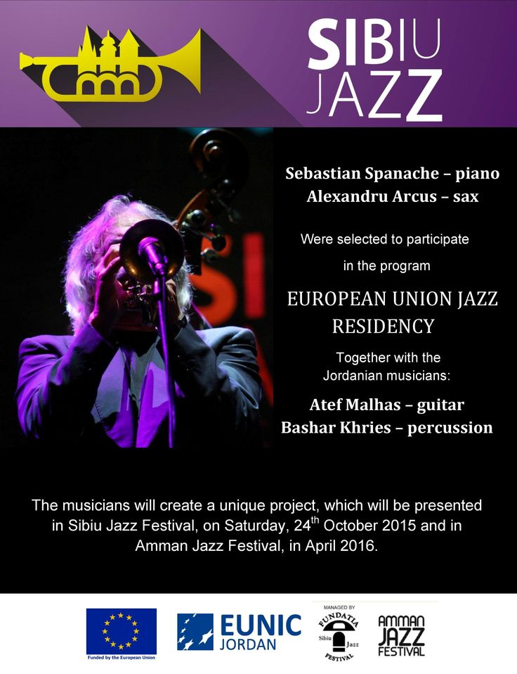 We announced the winners for the European Jazz Residency.