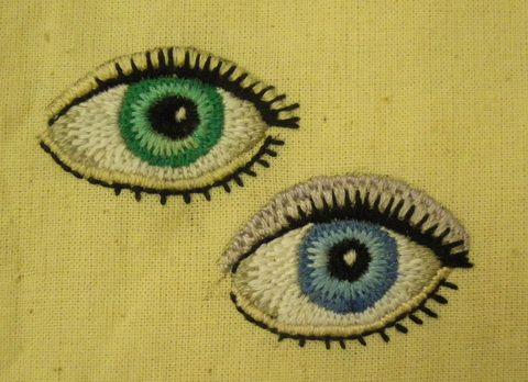 How To Embroider Eyes Onto Amigurumi : 1000+ images about How to embroider eyes on Pinterest ...