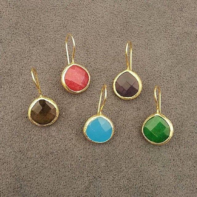"@estgir's photo: ""#jewellstyle #earrings #gold #silver #gemstones #amatista #agatas #topacios #animabarcelona #animajoyas #design #pendientes #joyas"""