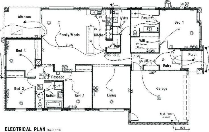electrical plan for house electrical plan new house