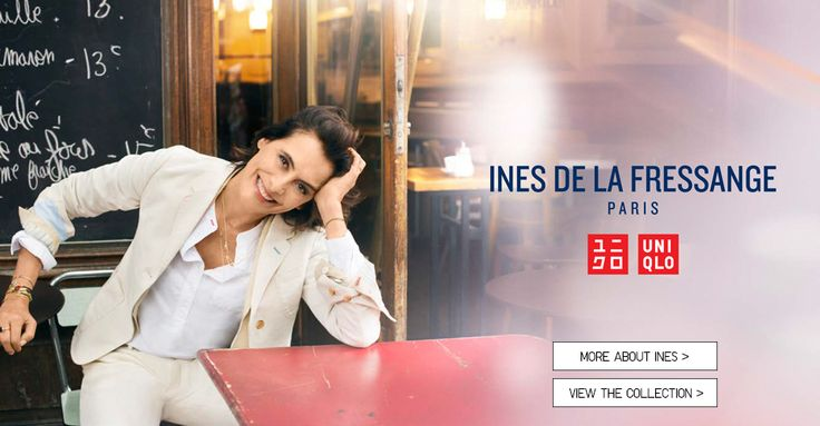 INES DE LA FRESSANGE - COLLECTIONS - WOMEN | UNIQLO
